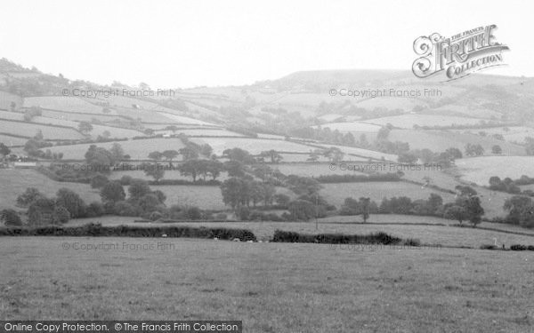 Photo of Whitchurch Canonicorum, General View c.1955