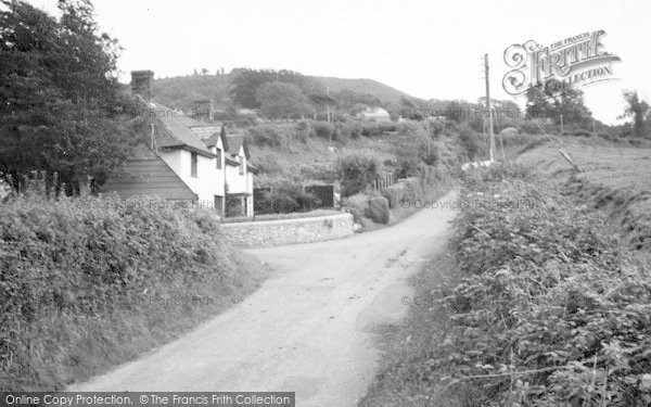 Photo of Whitchurch Canonicorum, Goodens Hill c.1955