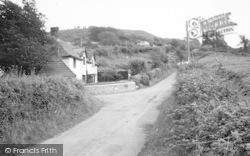 Whitchurch Canonicorum, Goodens Hill c.1955