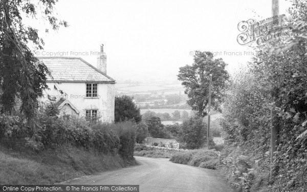 Photo of Whitchurch Canonicorum, The Bridport Road c.1955