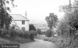 Whitchurch Canonicorum, The Bridport Road c.1955