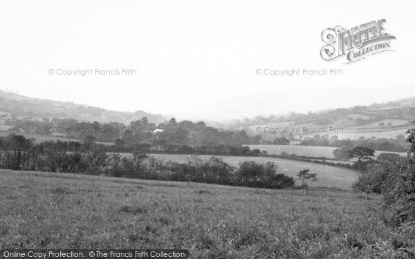 Photo of Whitchurch Canonicorum, View From Goodens Hill c.1955