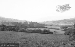 Whitchurch Canonicorum, View From Goodens Hill c.1955