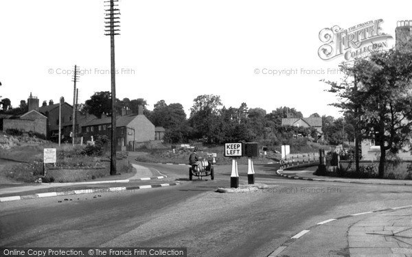 Photo of Whitchurch, Chester And Tarporley Road c.1955
