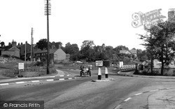 Whitchurch, Chester And Tarporley Road c.1955