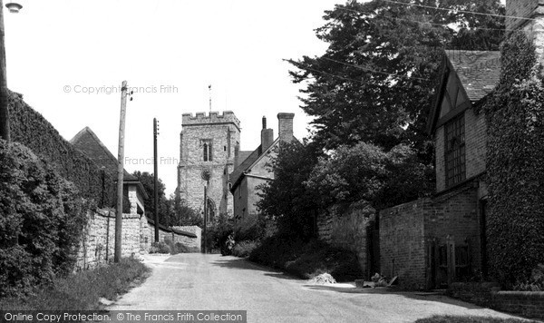 Photo of Whitchurch, Church Lane c.1955