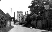 Whitchurch, Church Lane c1955