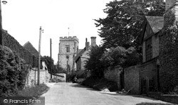 Church Lane c.1955, Whitchurch