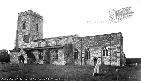 Photo of Whitchurch, Church Of St John The Evangelist c.1955