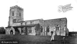Whitchurch, Church Of St John The Evangelist c.1955
