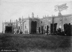 Whitchurch, Combermere Abbey 1906