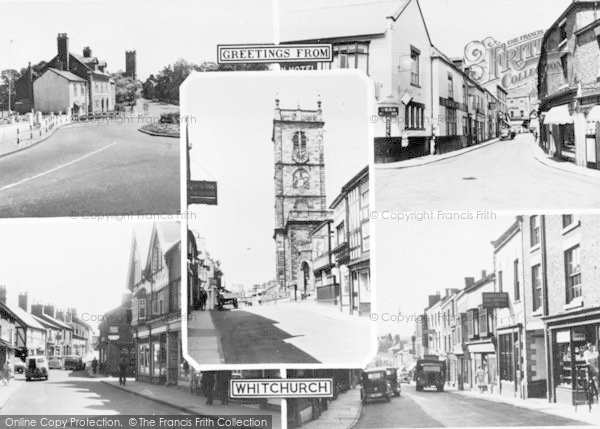Photo of Whitchurch, Composite c.1955