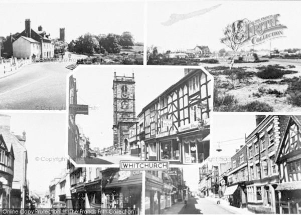 Photo of Whitchurch, Composite c.1960