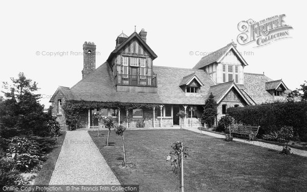 Photo of Whitchurch, Cottage Hospital 1898