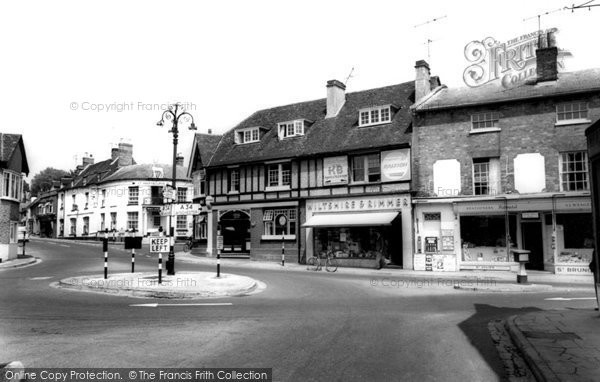 Photo of Whitchurch, Cross Roads And Post Office c.1960