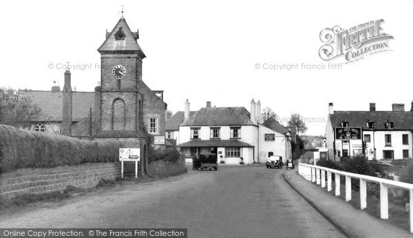 Photo of Whitchurch, Cross Roads c.1955