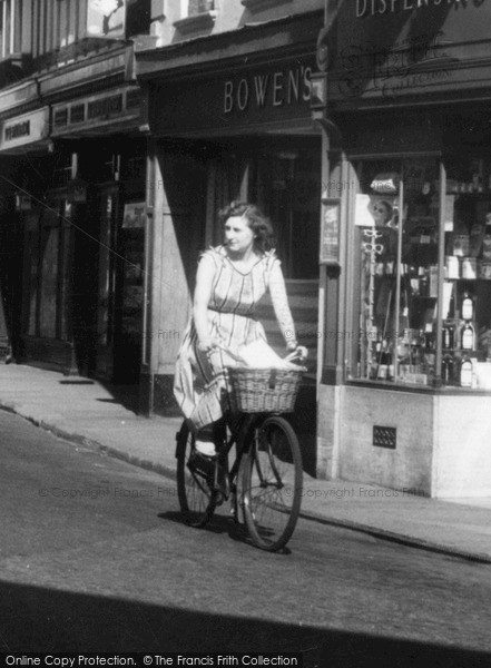 Photo of Whitchurch, Cycling, Green End c.1960