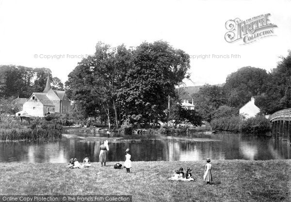 Photo of Whitchurch, From Bridge 1890