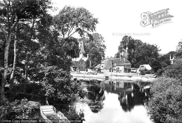 Photo of Whitchurch, From Pangbourne 1890