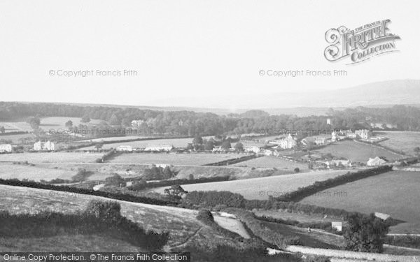 Photo of Whitchurch, From Plymouth Road 1890