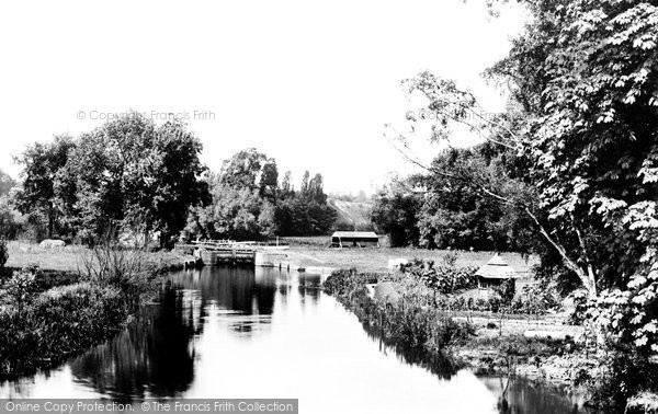 Photo of Whitchurch, From The Bridge 1890