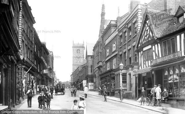 Photo of Whitchurch, High Street 1901