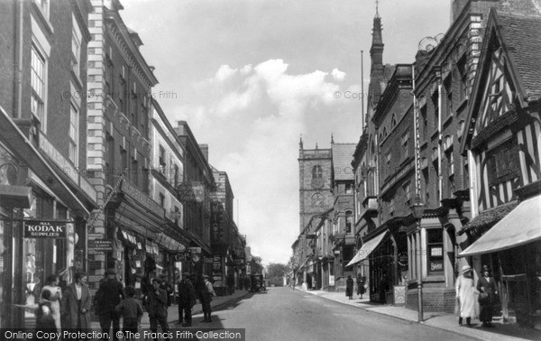 Photo of Whitchurch, High Street c.1925