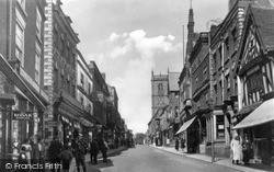 Whitchurch, High Street c.1925