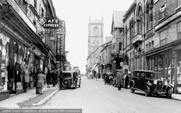 Photo of Whitchurch, High Street c.1950
