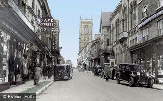Whitchurch, High Street c1950