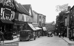 Whitchurch, High Street c.1950