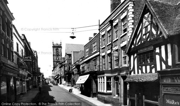 Photo of Whitchurch, High Street c.1955
