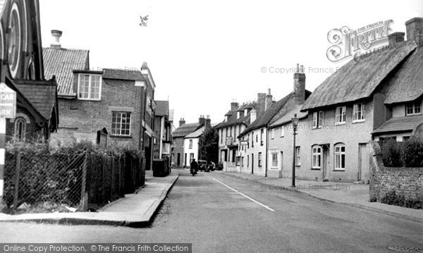 Photo of Whitchurch, London Street c.1955