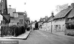 Whitchurch, London Street c.1955