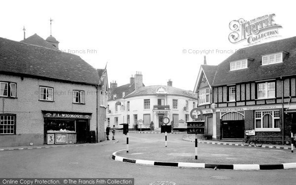 Photo of Whitchurch, Market Square 1939