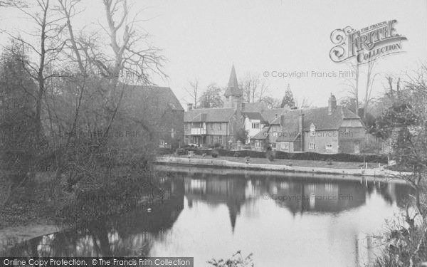 Photo of Whitchurch, Mill And Church 1910