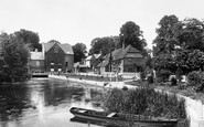 Whitchurch, Mill and Cottages 1899