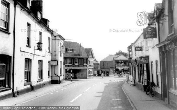 Photo of Whitchurch, Newbury Road c.1960