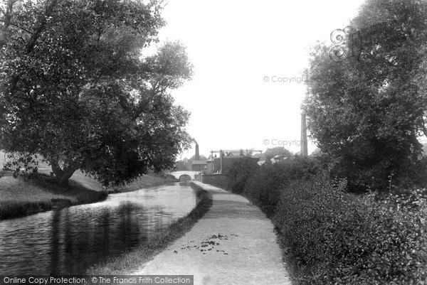 Photo of Whitchurch, On The Canal 1901