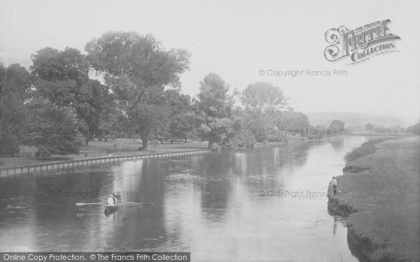 Photo of Whitchurch, On The River 1890