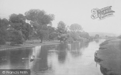 Whitchurch, On The River 1890, Whitchurch-on-Thames
