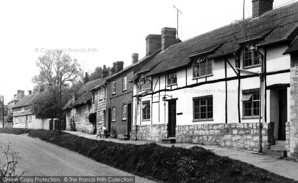 Photo of Whitchurch, Oving Road c.1955