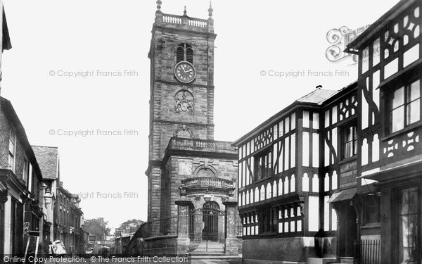 Photo of Whitchurch, Parish Church From The High Street 1898