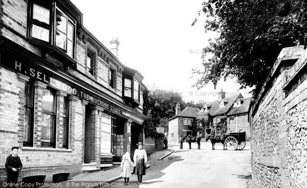 Photo of Whitchurch, Royal Oak 1899