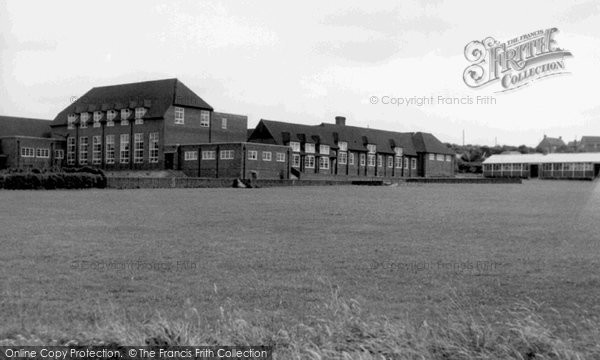 Photo of Whitchurch, Senior Modern School c.1955