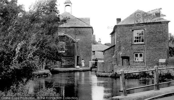 Whitchurch,Silk Mill c1955,Hampshire
