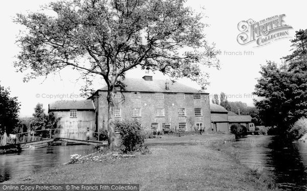 Photo of Whitchurch, Silk Mill c.1960