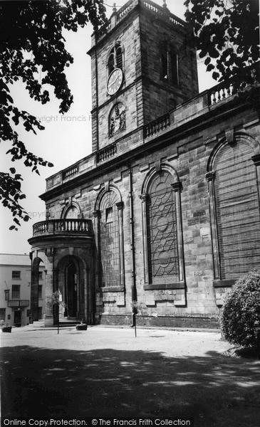 Photo of Whitchurch, St Alkmund's Church c.1955