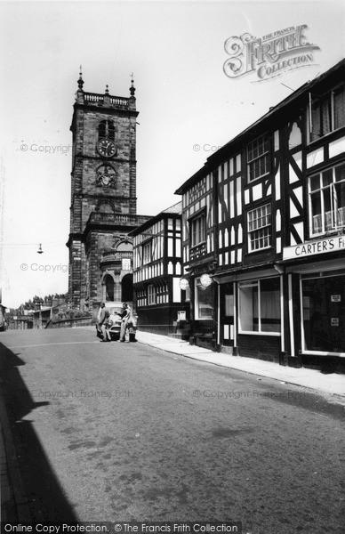 Photo of Whitchurch, St Alkmund's Church c.1960