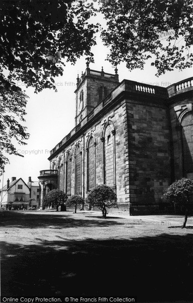 Photo of Whitchurch, St Alkmund's Church c.1960